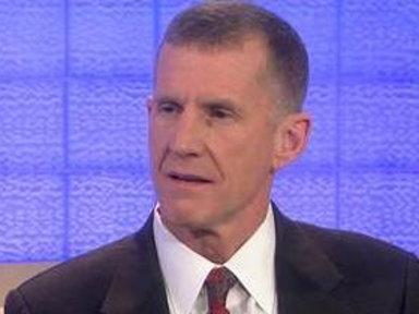 McChrystal On Resigning: 'I Wanted to Stay'