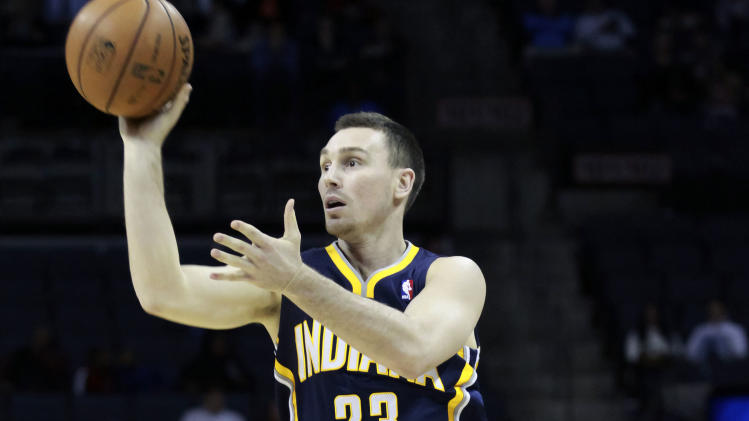 NBA: Indiana Pacers at Charlotte Bobcats