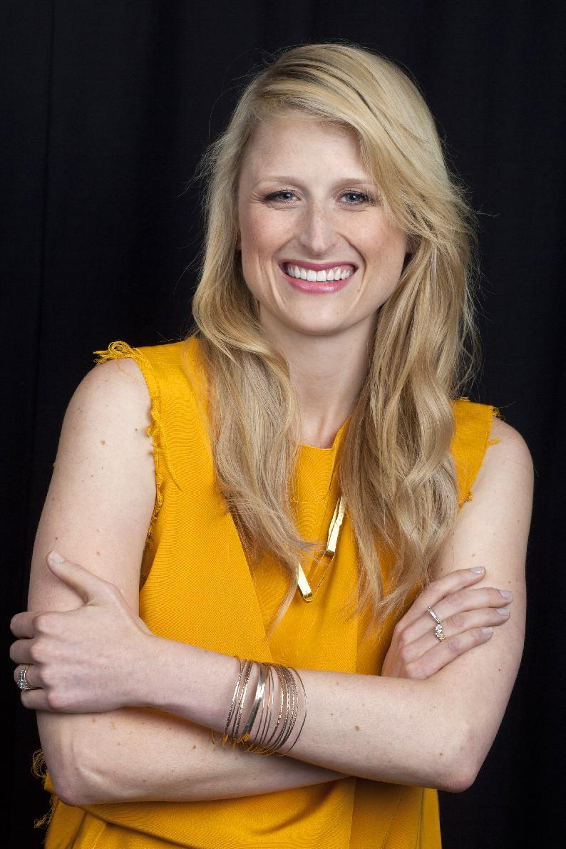 "This Oct. 2, 2012 photo shows American actress Mamie Gummer posing for a portrait in New York. Gummer portrays the title character in the CW drama series ""Emily Owens M.D.,"" premiering Tuesday Oct. 16 at 9:00 p.m. EST. (Photo by Amy Sussman/Invision/AP)"