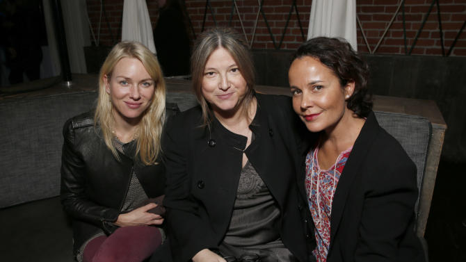 """Naomi Watts, Bruna Papandrea and Rebecca Rigg attend the after party for the LA Premiere of """"Warm Bodies"""" at the ArcLight Cinerama Dome on Tuesday, Jan. 29, 2013 in Los Angeles, California. (Photo by Todd Williamson/Invision for The Hollywood Reporter/AP Images)"""