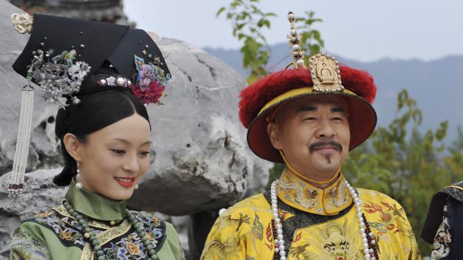 Imperial court drama thrills Taiwan, dismays China