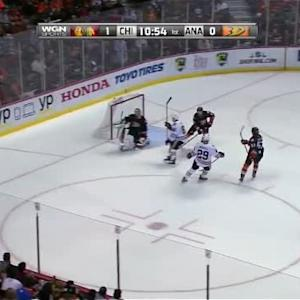 Frederik Andersen Save on Daniel Carcillo (09:07/1st)