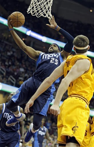 Mavericks hold off Cavaliers for 103-95 victory