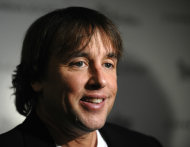 "FILE - In this Nov. 23, 2009 file photo, filmmaker Richard Linklater attends The Cinema Society premiere of ""Me and Orson Welles"" in New York. Beginning Thursday, many of the top digital outlets will for the first time band together to try an old TV tradition: the upfront. Over the next two weeks, YouTube, Yahoo, AOL, Hulu and others will hold their version of the annual pitch to advertisers to promote their programming slates. Hulu has partnered with filmmakers like Richard Linklater and Morgan Spurlock. (AP Photo/Peter Kramer, file)"