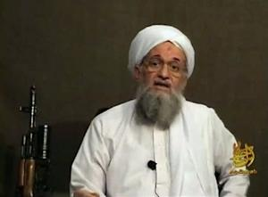 Still image from video shows Al Qaeda's second-in-command Ayman al-Zawahri speaking from an unknown location