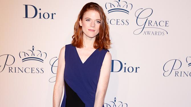 Actress Rose Leslie arrives for the 2016 Princess Grace Awards Gala in the Manhattan borough of New York