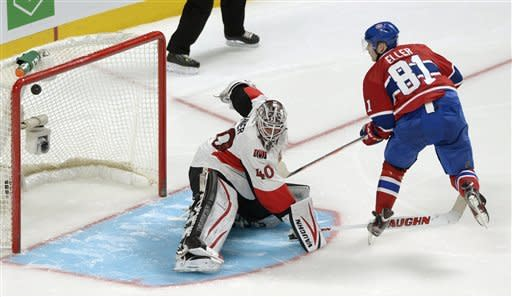 Canadiens outlast Senators 4-3 in SO