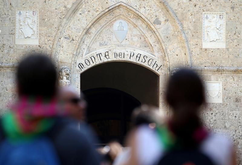 Monte dei Paschi says provisional take-up of debt swap offer tops 1 billion euros