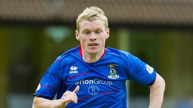 Billy McKay scored twice for Inverness