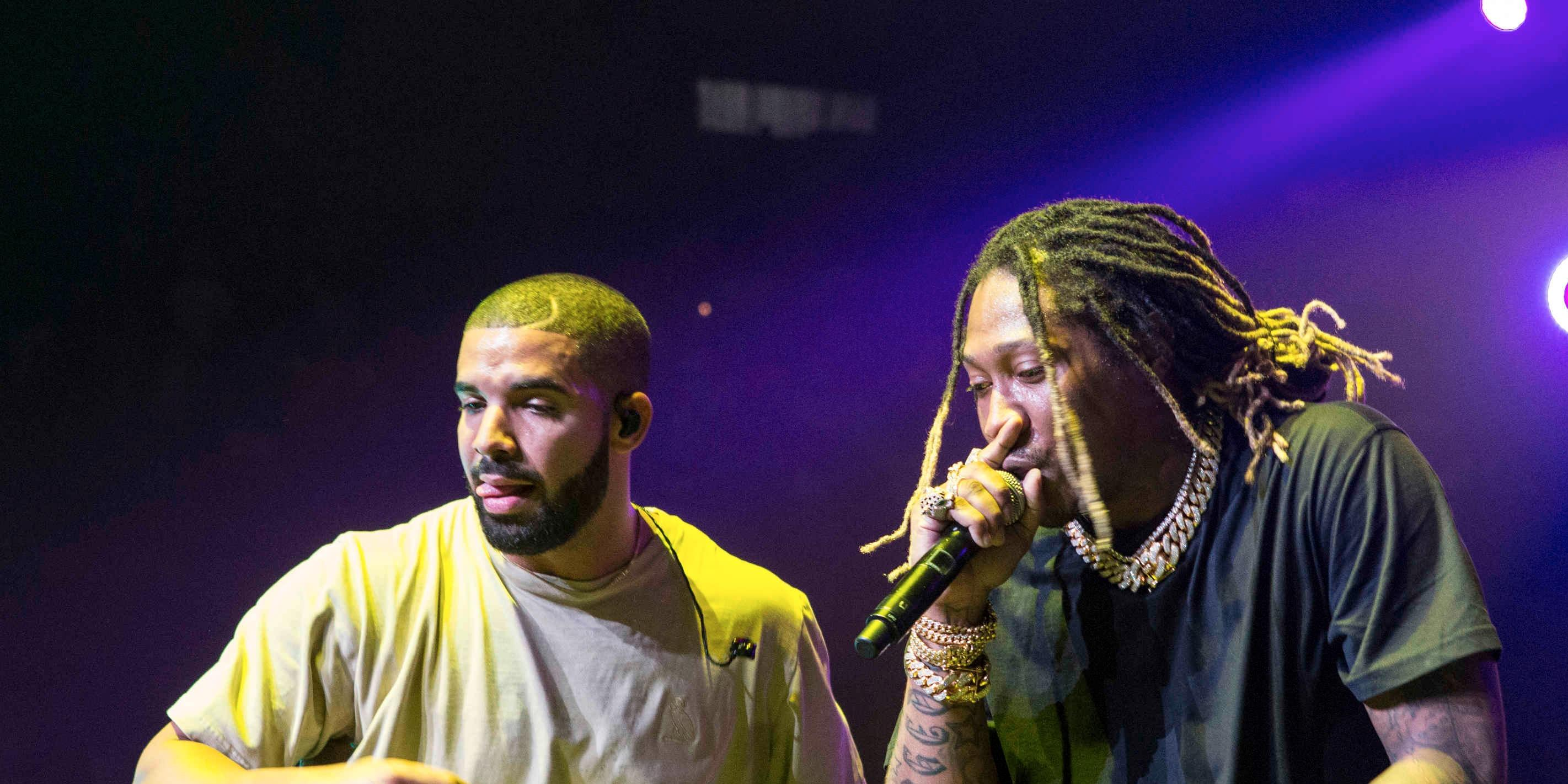 Here's the massive diamond encrusted pinky ring Future bought for Drake