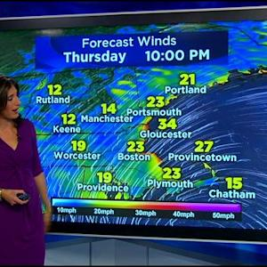 WBZ AccuWeather Midday Forecast For Oct. 22