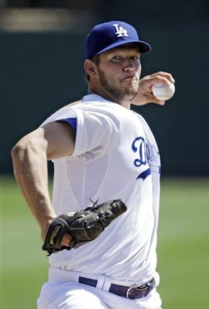 Kershaw pitches 6 innings for Dodgers