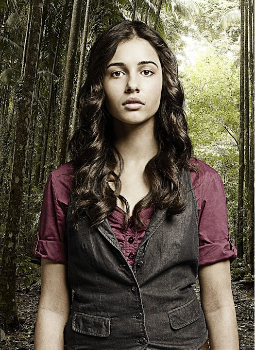 "Naomi Scott stars as Maddy Shannon in ""Terra Nova."""