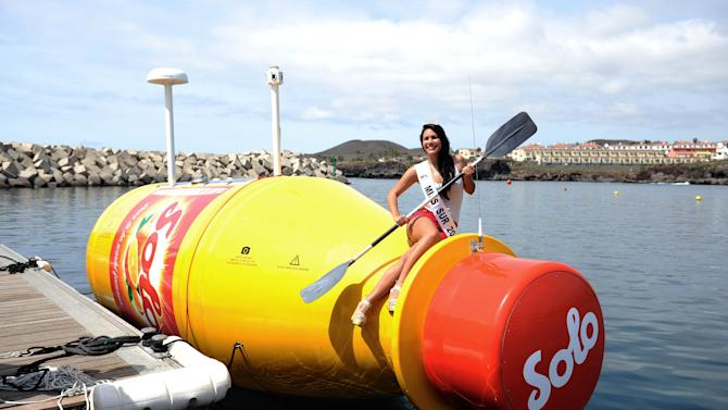 Solo Launches the World's Largest Message In A Bottle