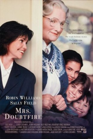 Mrs. Doubtfire saves lives
