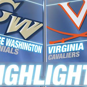 George Washington vs Virginia | 2014-15 Highlights