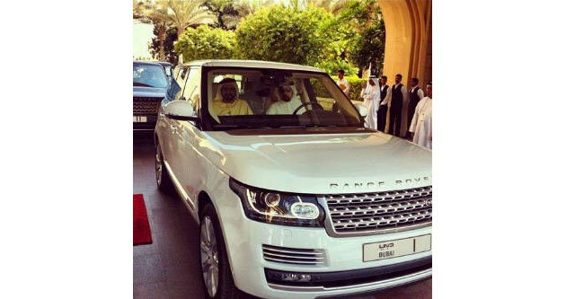 Dubai ruler Sheikh Mohammed Bin Rashid Al Maktoum has become the first person in the world to receive the all-new Range Rover.