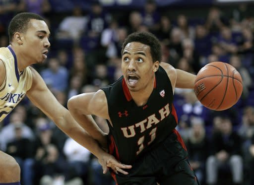 Utah stuns Washington 74-65