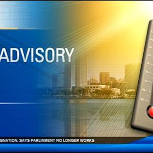 San Diego County under heat advisory