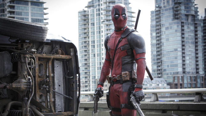 Big 'Deadpool' debut annihilates 'Fifty Shades' record, more