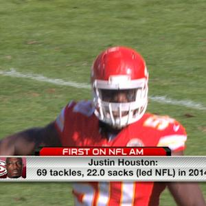 Justin Houston will not sign franchise tag any time soon