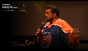 "Video screenshot: Kevin Smith talks about ""Star Wars: Episode VIII"" at the NIFFF  NIFFF Livestream - Kevin Smith Livestream 2014"
