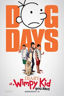 Poster of Diary of a Wimpy Kid: Dog Days