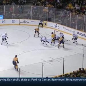 Martin Jones Save on Roman Josi (09:02/1st)