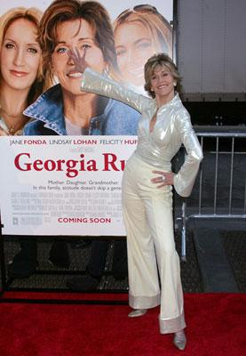 Jane Fonda at the New York premiere of Universal Pictures' Georgia Rule