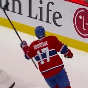 Rene Bourque beats Martin Brodeur short side