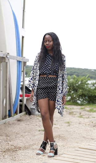 Style Hunter In The Hamptons: Polka Dot Power Dressing