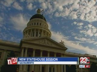 New statehouse session starts