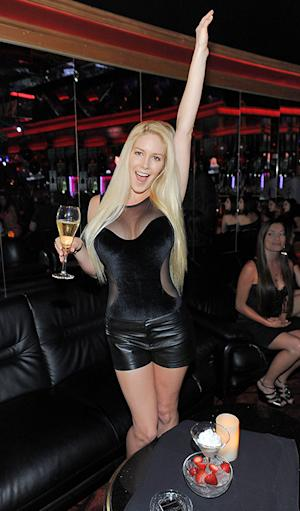 Heidi Montag Flaunts Famous Curves in Skimpy Outfit at Strip Club Party