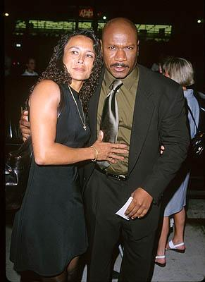 Ving Rhames and his wife at the LA premiere for Eyes Wide Shut Photo by Jeff Vespa/Wireimage.com