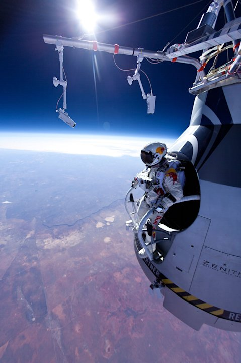 BBC HD, Red Bull Stratos, Space Dive, FElix Baumgatner