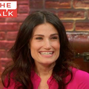 The Talk - Idina Menzel on Barbra Streisand & 'Frozen'