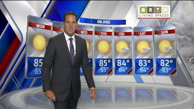 Fox5`s Brad Wills Gives His Seven Day Forecast