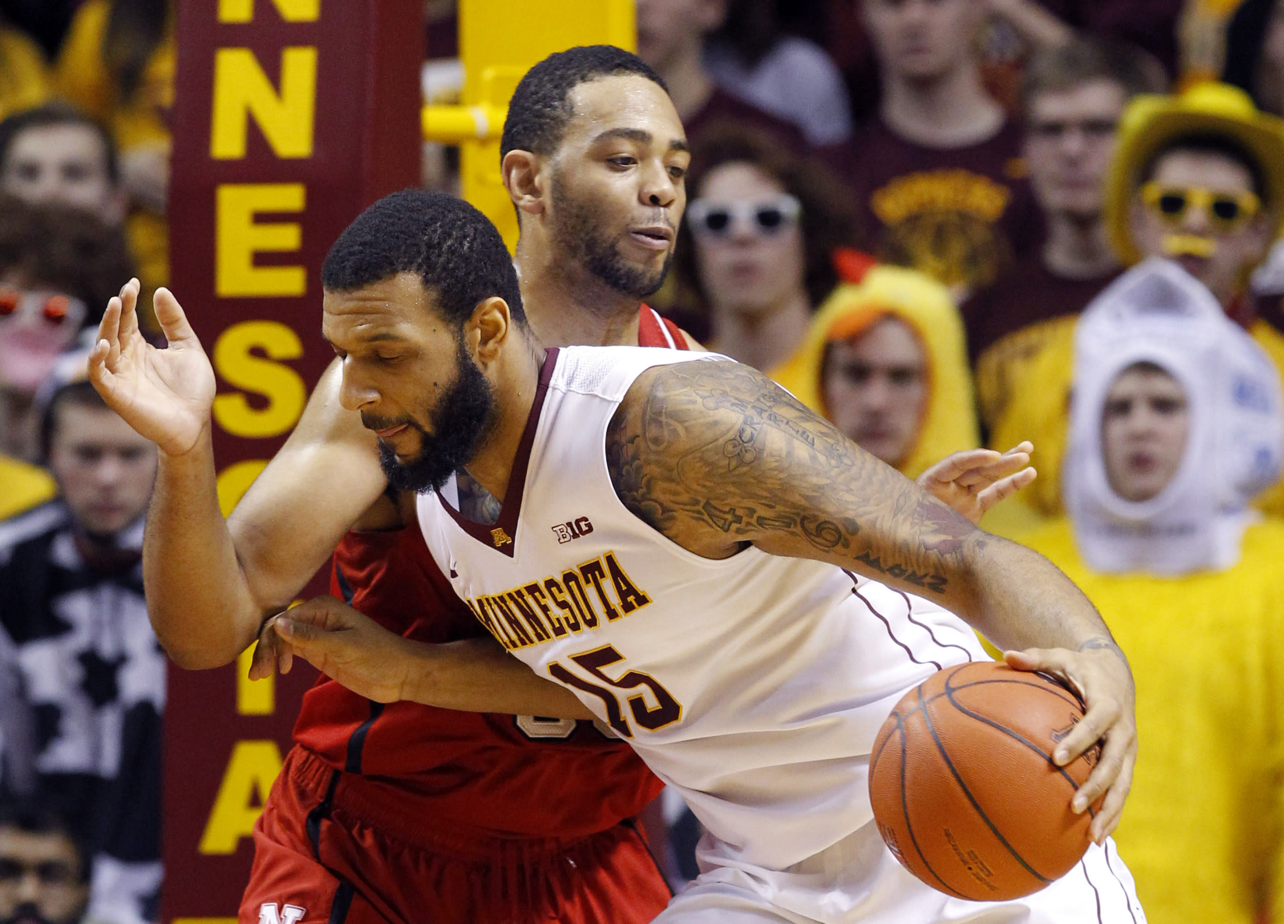 Walker leads Minnesota's romp past Nebraska, 60-42