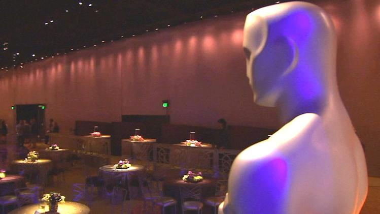 Oscars Governor's Ball ready for big stars
