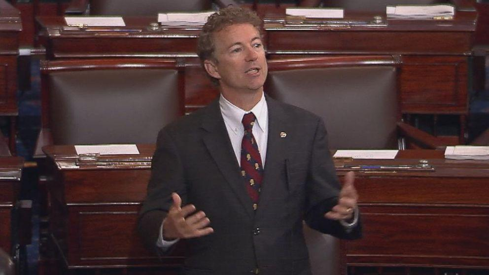 Sen. Rand Paul Ends Filibuster Against NSA's Controversial Data Collection Program After 10 Hours