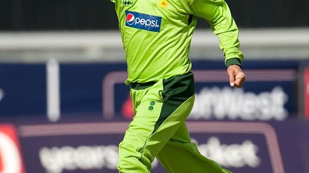 Saeed Ajmal took five wickets for Pakistan