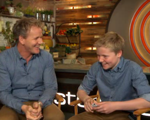 MasterChef Father's Day Exclusive: The Judges (and Their Sons) Dish (Goofy) Favorite Memories
