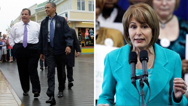 Chris Christie Challenger Barbara Buono Lost Amid Obama Fanfare