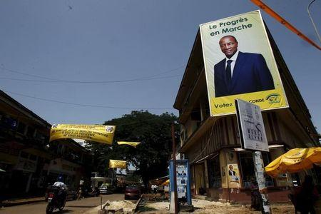 Guinea president says weekend election to proceed