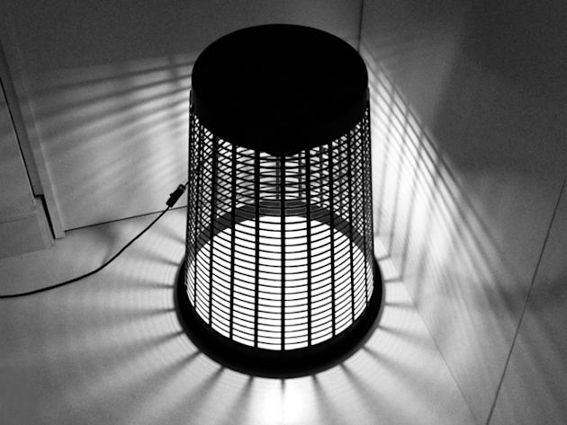 Laundry Basket Lamp