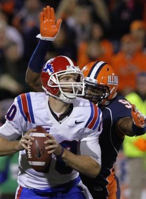 Louisiana Tech stuns Illinois, 52-24