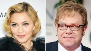 Elton John Says Feud With Madonna Is Over