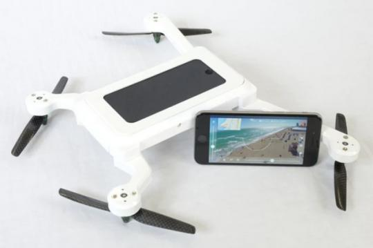 PhoneDrone Turns Your Phone into an Autonomous Quadcopter