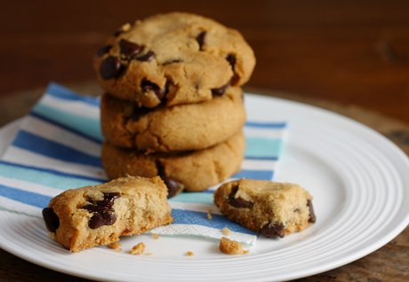 Egg-free, Nut-free, and Dairy-free Chocolate Chip Cookies