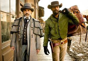 Christoph Waltz and Jamie Foxx  | Photo Credits: Weinstein Company